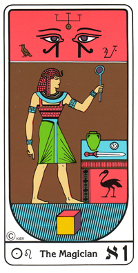 O Mago WWW.TAROTDOOR.COM - Tarot egípcio